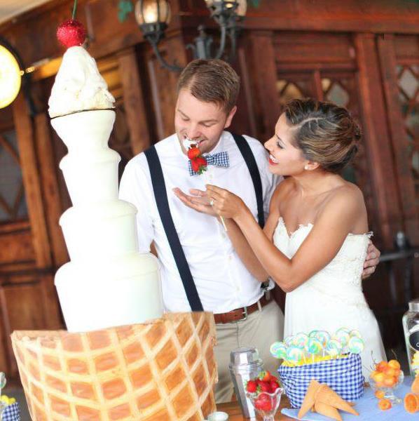Mark louise s wedding la fontaine de chocolat - La fontaine family office ...