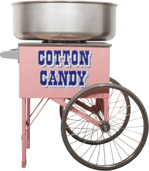 Candy Floss Cart