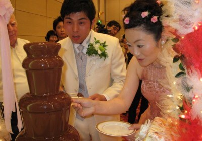 Japanese Chocolate Fountain